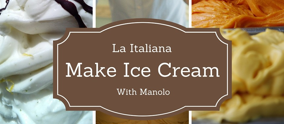 Make Ice Cream with Manolo Almunecar Spain