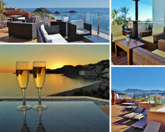 The Best Place To Stay In Almuñécar With Amazing Views! Hotel Helios Costa Tropical