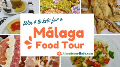 Almunecar Info is giving away 4 Malaga Food Tour Tickets! You have many ways to earn entries, so join in now. Read more on AlmunecarInfo.com