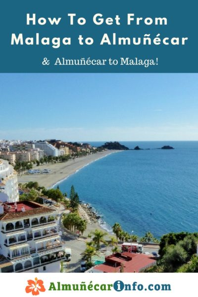 How To Get From Malaga To Almuñécar and La Herradura. There are many transportation options for getting from Malaga to Almuñécar. To help facilitate your journey, below you will find a listing along with directions and maps. The travel time can vary based on mode of transportation chosen as well as time or day of the week. The Malaga airport code is AGP, click here for more Malaga Airport Information. We will help you with driving toAlmuñécar, taking the bus toAlmuñécar, and other transportation options. Read more on AlmunecarInfo.com