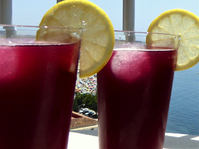 """Maria's Tinto de Verano is the perfect refreshment for those hot summer days. It's a refreshing wine-based cocktail, which translates as """"summer red wine""""."""