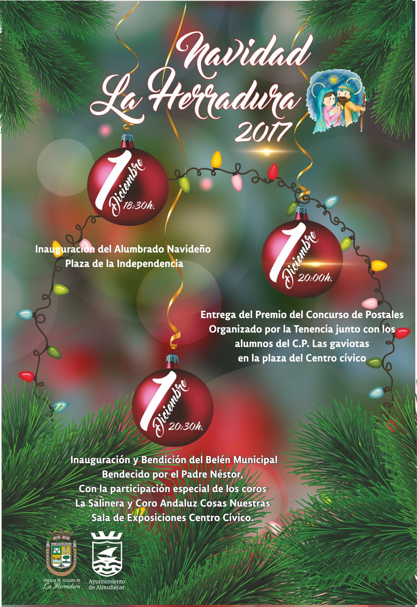 We have compiled a list of things to do for 2017 Christmas in Almuñécar & La Herradura. Including events for January and Los Tres Reyes (The 3 Kings). 2017 holiday season Almuñécar & La Herradura. Read more on Almunecarinfo.com
