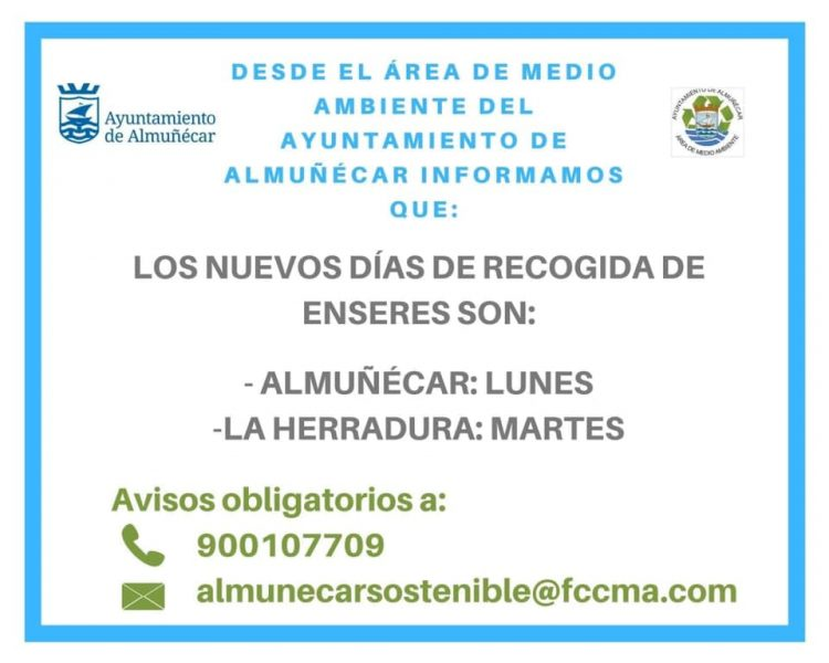 Almunecar - La Herradura Disposal & Recycle Household Goods and Furniture. Read more https://almunecarinfo.com/how-to-recycle-in-spain/