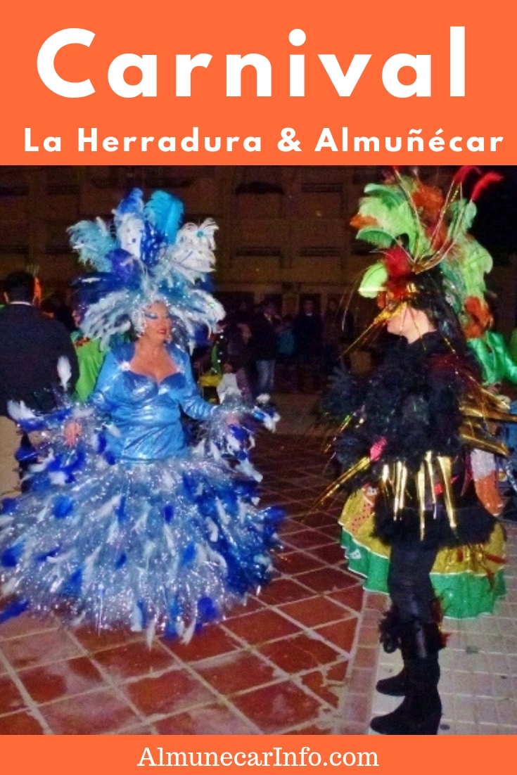 La Herradura and Almuñécar Carnival Costumes, masquerade, parades, singing, dancing, music, activities, food and drink. This is what you will experience when you celebrateLa Herradura &Almuñécar Carnival!Read more at Almunecarinfo.com