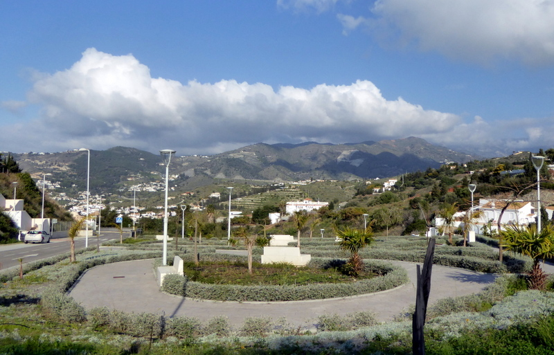 Plaza and park on Calle Barranquillo