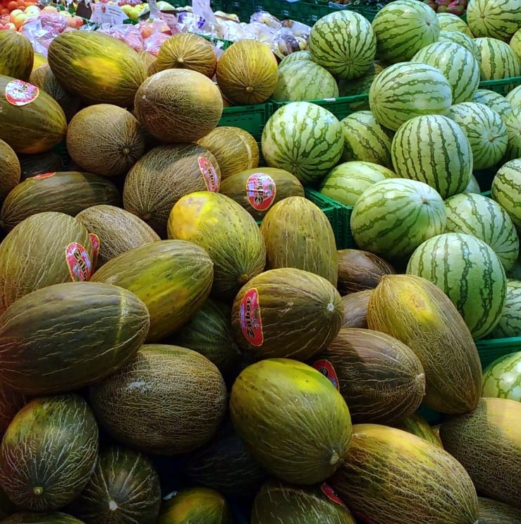 There are so many melons to choose from, which are all delicious! The most common is likely the Piel de Sapo melon. You will find that mixing melon with the delicious Spanish Jamónis quite the treat too.