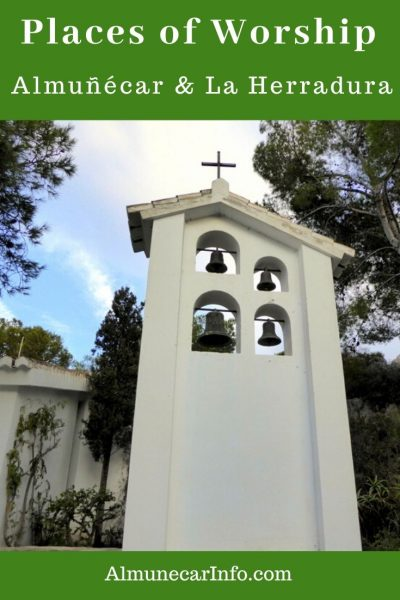 There are several places of worship in Almunecar & La Herradura. We will share the churces and ermitas with you, also showing locations pinned on a map. Read more on Almunecarinfo.com