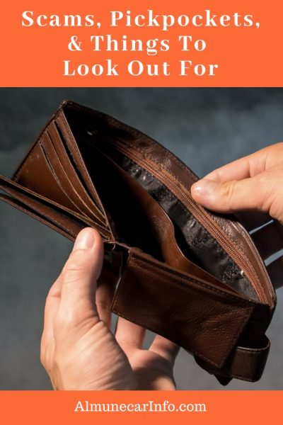 Scams, Pickpockets, & Things To Look Out For- An informational post to help you remain aware of scams, pickpockets, and things to look out for. First of all, we feel this is a very safe area to live and rarely hear of any crime. However, every once in a while we do hear of something and thought we would share the information with you. Scammers are everywhere in cities big and small, so we hope this helps to keep you informed and to be on the lookout for these things. Read more on Almunecarinfo.com
