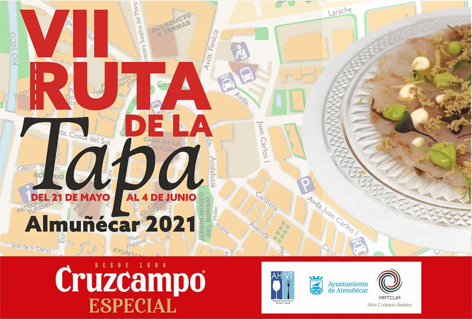 Get your tapas passport stamped and head out on the Almuñécar Ruta de la Tapa! Each spring you can expect wonderful tapas and a fun experience. Read more on Almunecarinfo.com