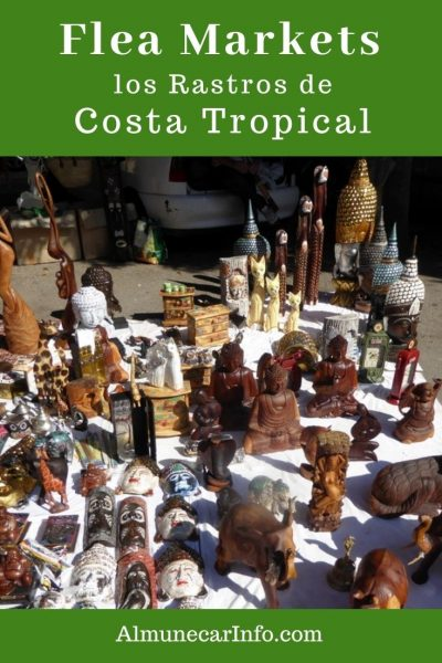 We all love a good bargain, but it is even better to discover a good find at a flea market or thrift shop! Costa Tropical rastros, charity shops and groups. Read more on Almunecarinfo.com