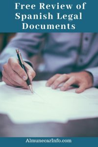 Did you receive some Spanish Legal Documents and having trouble understanding them?AF Consulting Law is offering a free review service to let you know if there is action needed. Read more on Almunecarinfo.com