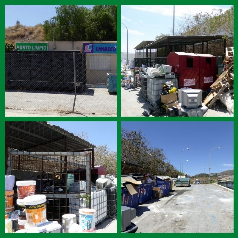 Drop Off Recycle Electronics, Electronic Equipment, Household Items Do you have waste electrical and electronic equipment (WEEE)? Puntos de Recogidas or Punto Limpio Motril Open Monday - Saturday 09:00 - 14:00 There are drop off points in Costa Tropical, in Motril. Map Location At this location, you may take computers, TV's, electronics, Kitchen appliances, cardboard, paper, paint, fluorescent lights, oil waste and more.