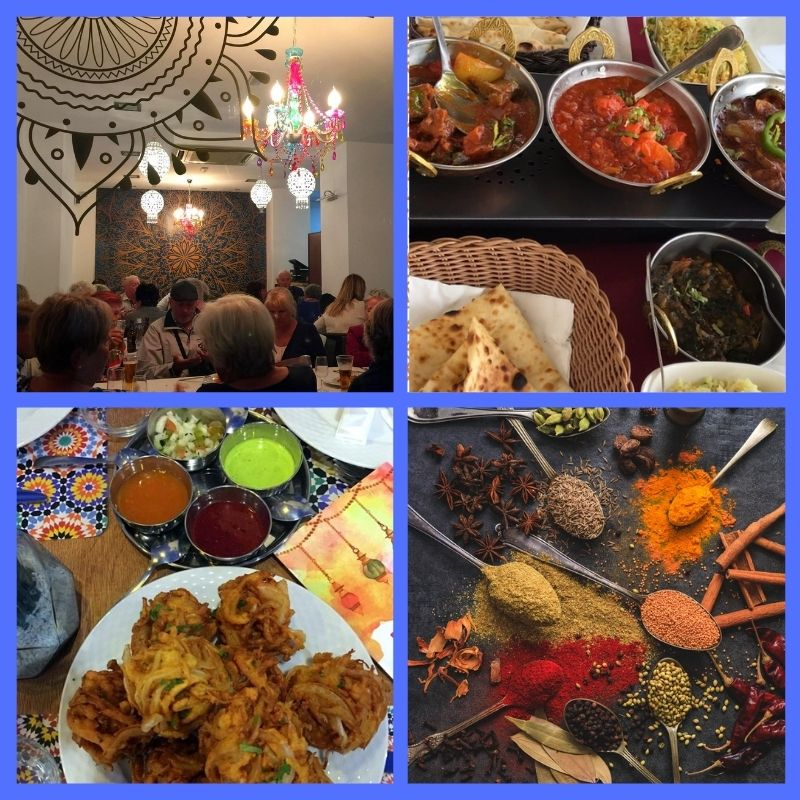 Taj Mahal Tandoori, Indian food with indoor or outdoor dining and take away too! Indian Restaurant Almunecar. Read more about international restaurants on Almunecar Info https://almunecarinfo.com
