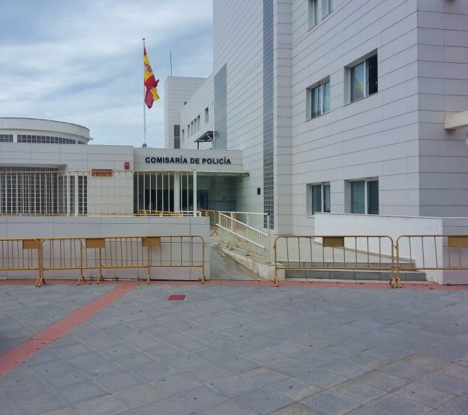 Motril extranjeria national police and foreigner's office