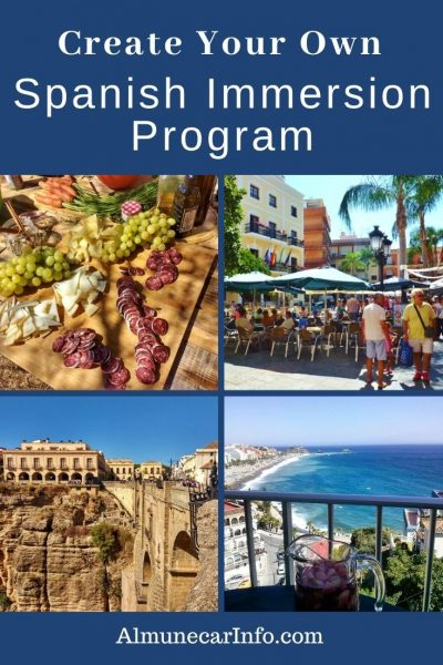 Trusted tips for you to create your own Spanish immersion program! So many of us moved to Spain to immerse ourselves in Spanish, so let's get it done! Including day-to-day life, the culture, the food, and the language. Sometimes that is easier said than done. It doesn't matter if you are in Spain for a week or years, many of these suggestions will help you work towards your Spanish language learning goals. Nearly everything is great for adults, kids, retirees, singles, couples, families! Read more on Almunecarinfo.com