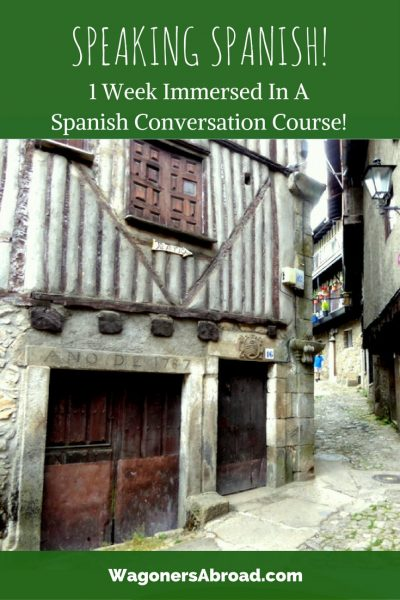 A full week of Spanish Immersion for those at the speaking level of A2 or higher Pueblo Espanol Spanish immersion course